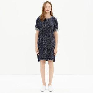 Madewell Marled Texture Sweatshirt Dress